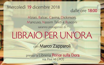 Libraio per un'ora: Marco Zapparoli